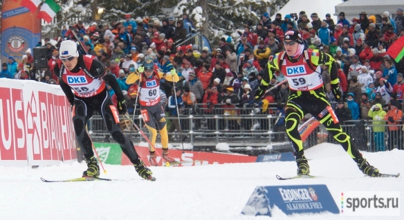 Hochfilzen Pursuit